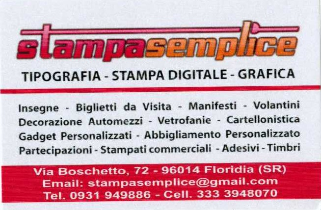 Stampa semplice